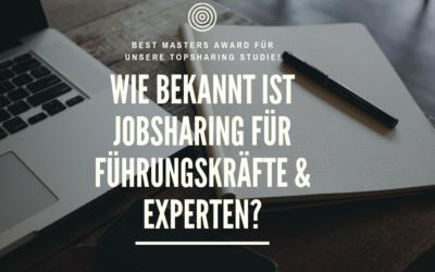 TopSharing Studie: Wie bekannt ist JobSharing für Führungskräfte?