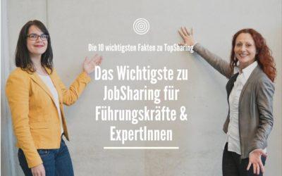 Das Wichtigste zu JobSharing für Führungskräfte & ExpertInnen | TopSharing